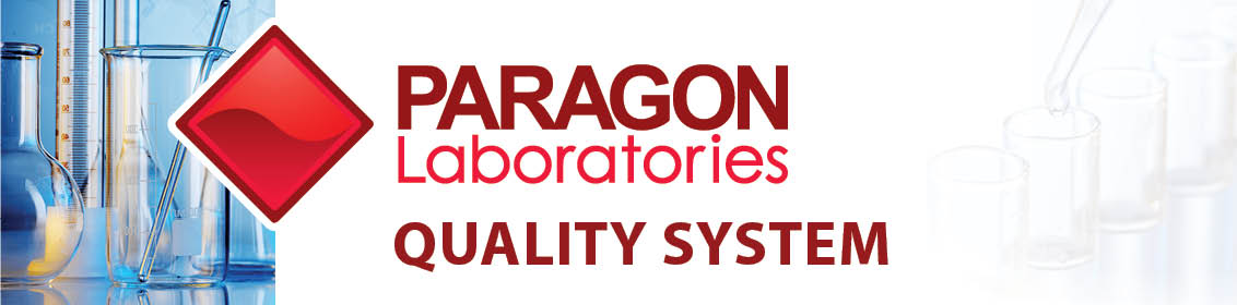 Paragon Laboratories Quality System